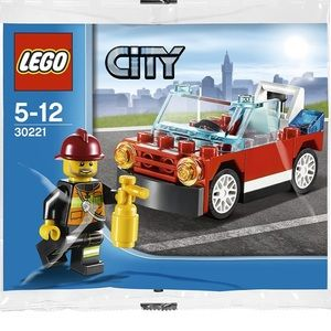 36 piece Fireman/car Set NWT